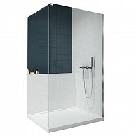 Душевой уголок NEW TRENDY  VELIO walk-in D-0105B 80x195
