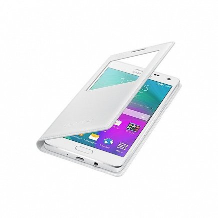 купить Чехол Samsung EF-CA500BWEGRU (S View A500 ) for Galaxy A5 white
