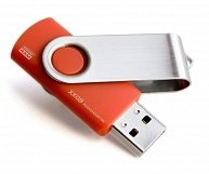 USB Flash  GOODRAM  UTS3 (Twister) UTS3-1280R0R11  Red
