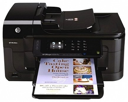 купить Принтер HP Officejet 6500A e-All-in-One (CN555A)