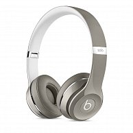 Наушники Beats Solo2 On-Ear Headphones (Luxe Edition) - Silver MLA42ZM/A