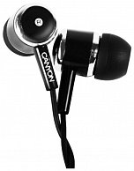 Наушнки Canyon  CNE-CEPM01B  Stereo earphones with microphone, Black