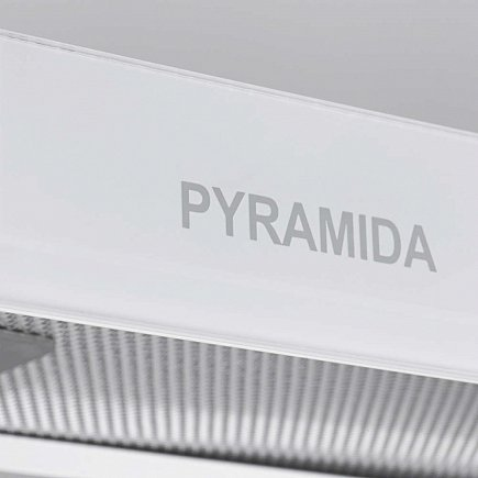 купить Вытяжка PYRAMIDA TL full glass 50 Inox White/N