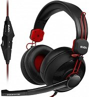 Наушники Sven AP-G777MV Gaming Black-Red