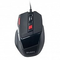 Мышь SVEN GX-970 Gaming USB Black