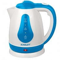 Электрочайник  Scarlett SC-EK18P29  White with blue