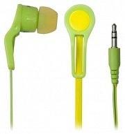 Наушники Ritmix RH-014  Green/Yellow