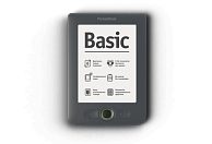 Электронная книга PocketBook Basic 613 New серая