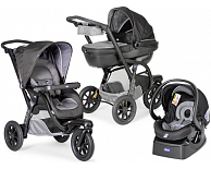 Коляска Chicco Trio Activ3 with Kit Car  (Grey)